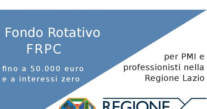 fondo rotativo frpc 2019 lazio